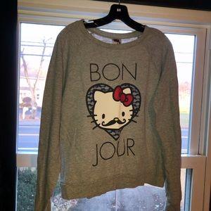 Tops - Hello Kitty sweatshirt, juniors L